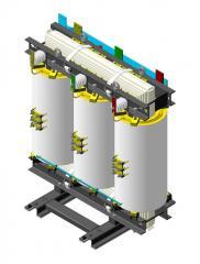 Трансформатор сухой типа ТС, ТСЗ, ТСЗН, ТСЗС, ОС, ОСЗ 6-10кВ