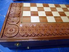 Complete Chess, Checkers, Backgammon, hand,