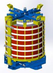 Реактор сухой сглаживающий (фильтровый) типа...