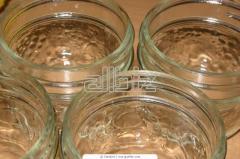 Glass container for drinks
