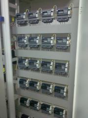VRU, UVR introduction distributing device