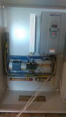 Шкаф управления вентилятором и дымососом 75 кВт