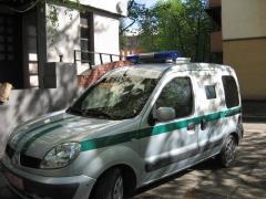 Инкассаторское авто Renault