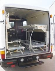 Автомобілі спеціальні швидкої допомоги