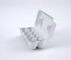 Упаковка для яиц из вспененного полистирола на 10