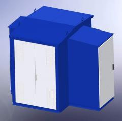 Комплектная трансформаторная подстанция типа КТПК-25…630/6(10)/0,4-У1 6-10 кВ