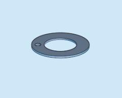 Композитные металлополимерные подшипники - шайбы скольжения из PTFE композитом