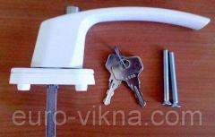 Ручка с ключом, антидетка, ручка с замком.