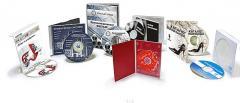 Packing for disks Envelopes, boxes, didzhipak