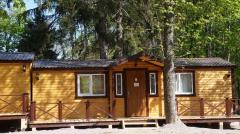 Lodges for children's camps, a camping