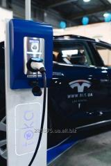 Зарядная станция для электромобиля GreenFuel W32A