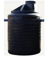 Capacities plastic volume are from 1 to 25 cbm.