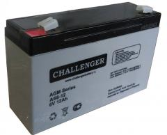 The accumulator for the Challenger AS 6-12 UPS