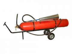 Portable carbonic fire extinguisher