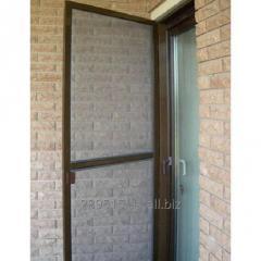 Door mosquito grid