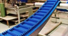 Перегородки, направляющие, гофробурты для конвейерных лент