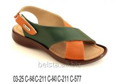 "TM sandal ""BELSTA"" for girls and women"