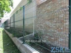 Fence from a grid height 2.0m the Section STANDARD