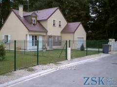 Забор из сетки высотой 1.5м Секция СТАНДАРТ код SZS-01(1)_2_13