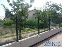 Забор из сетки высотой 1.0м Секция ЭКО код STE-01