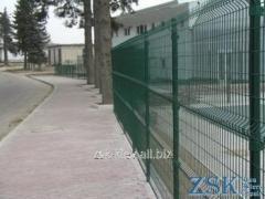 Забор из сетки высотой 2.4м Секция СТАНДАРТ...