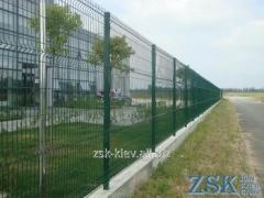 Забор из сетки высотой 2.0м Секция КЛАССИК...