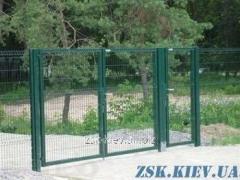 Ворота из сетки Класик рама 40х40мм. Высота...