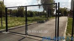Ворота из сетки ЭКО рама O45мм. Высота 1,68м, ширина 3м код VTE-02111
