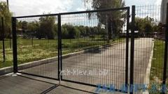 Ворота из сетки ЭКО рама O45мм. Высота 1,68м, ширина 4м код VTE-05111