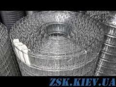 Сетка сварная оцинкованная 50х25х1.6мм код SC-13