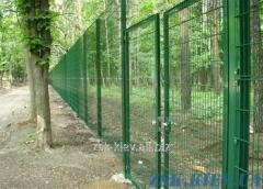 Ворота из сетки Класик рама 40х40мм. Высота 1,68м, ширина 4м код VTK-08111