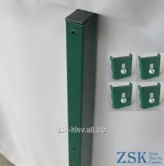 Column 2.3m 60kh40mm the Classic of fastening in a set the PTK-03 code
