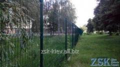 Забор для дачи из сетки высотой 2.0м Секция...