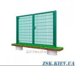 Ворота из сетки Класик рама 40х40мм. Высота 1м, ширина 3м