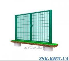 Ворота из сетки Класик рама 40х40мм. Высота 1м, ширина 4м