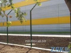 Забор из сетки высотой 2.4м Секция ЭКО