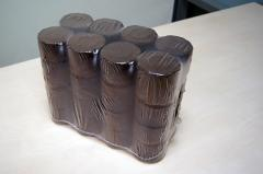 Fuel briquettes from a lignin