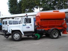 Машина дорожняя комбинированя МДКЗ-27