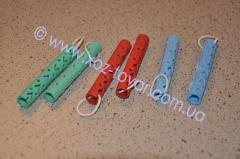Hair curlers are silicone,  10 mm (packing)