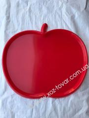 Піднос яблуко,  шт.