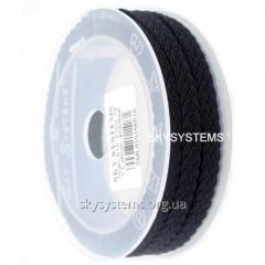 Silk cord Milan 915 | 1.5x6.0 mm Colour: Black 16