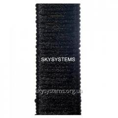 Шелковый шнур гладкий | 1.5 мм Цвет: Черный 01