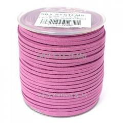 Шнур Алькантара 1.4 x 3.0 мм Фиолетовый 04