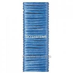 Шелковый шнур гладкий | 2.0 мм Цвет: Голубой 64