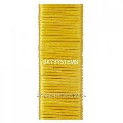 Шелковый шнур гладкий | 2.0 мм Цвет: Желтый 12
