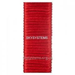 Шелковый шнур гладкий | 2.0 мм Цвет: Красный 07
