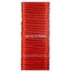 Шелковый шнур гладкий | 1.5 мм Цвет: Красный 01