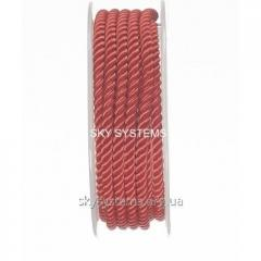 Silk cord Milan 226 | 4.0 mm, Colour: Red 30