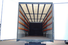 Semi-trailers vans, tentovany trailers to order,