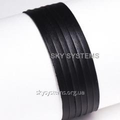 Кожаная лента | 3,0 х 0,5 мм, Цвет: Черный